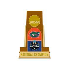 Florida Gators WinCraft 2017 NCAA Men's Baseball College World Series National Champions Collector Pin
