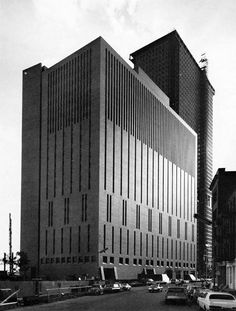 "wmud: "" carson lundin and shaw - manufacturers hanover trust, operations center, new york, 1966 """
