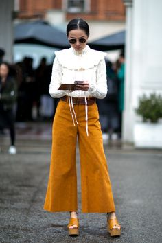 - Street style : 20 façons de porter le blanc cet hiver - Elle