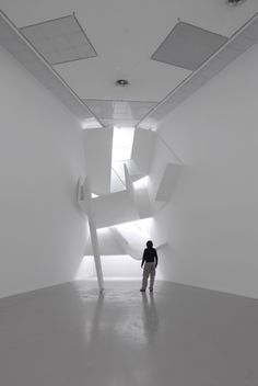 André Kruysen, Before one has a past, 2006 Light Art, Space Interiors, Space Architecture, Conceptual Design, Light And Shadow, Installation Art, Amazing Art, Design Art, Contemporary Art