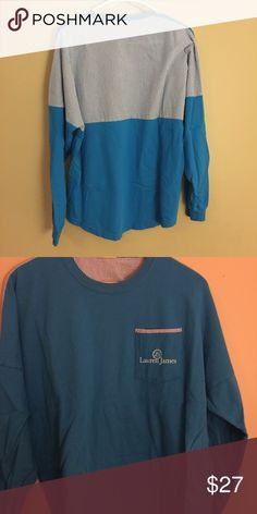 NWOT Lauren James Beach Comber long sleeve. Lauren James Medium but over-sized will fit large. Beachcomber by Lauren James long sleeves. Looks great with Lilly Pulitzer shorts. Washed but never worn. Lilly Pulitzer Tops