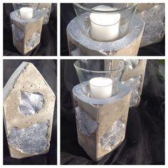 schale aus beton mit herbstlicher dekoration | products and dekoration, Hause und Garten