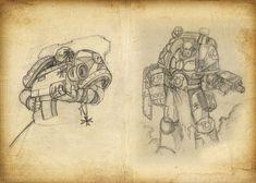 ArtStation - Warhammer 40k (Part 2), Shoker Igor