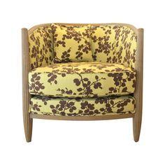 Citron Ricky Chair ❤ liked on Polyvore featuring home, furniture, chairs, accent chairs, upholstered accent chairs, upholstered chair, fabric furniture, fabric accent chairs and upholstered furniture