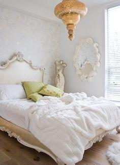Morrocan lantern ornate bed by roji