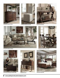 Superieur Vintage Casual Furniture Collection October 2012 Trendwatch By Ashley  Furniture HomeStore