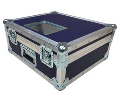This flight case for Cine Alta Lens Pack is designed using 9mm PVC and reinforced with aluminium edging. This lens case is best for any valuable pro kit.