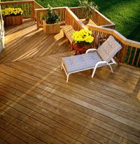 deck with different levels