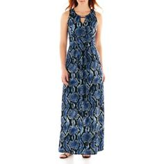 DR Collection Sleeveless Print Maxi Dress  found at @JCPenney
