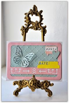 Crafting ideas from Sizzix UK: Invitations 'Made Simple'