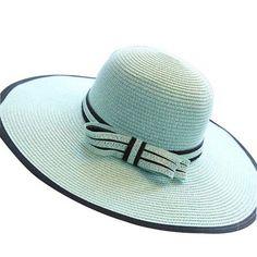 Simple Elegant Wide Large Brim Floppy Sun Hat 3 Colors-Loluxe