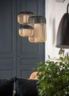 Home sweet home, place sathonay Marion LANOË Copper Pendant Lights, Pendant Lighting, Chandelier, Sweet Home, Interior Lighting, Lighting Design, Bamboo Light, Deco Luminaire, Fashion Lighting