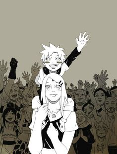 Naruto// Naruto and Sakura