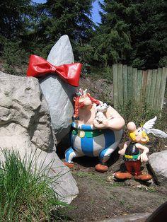 Asterix and Obelix  (Parc Asterix, France)