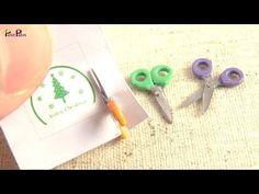 Miniatura de tijeras (Realmente Cortar) / Tutorial - Petit Palm - YouTube
