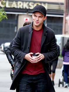 Star Tracks: Monday, May 9, 2016 | REBEL WITH A CAUSE | Nicholas Hoult films Rebel in the Rye Friday in New York City.