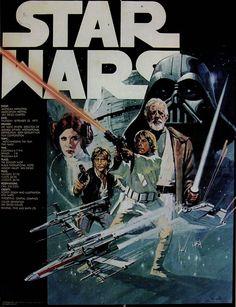 rare star wars movie poster art