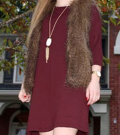 Country and Class: Fur Vests for Fall