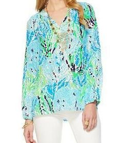 Lilly Pulitzer Elsa Top in Let's Cha Cha--- endless summer sale 2014