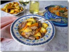 Croatian lamb stew