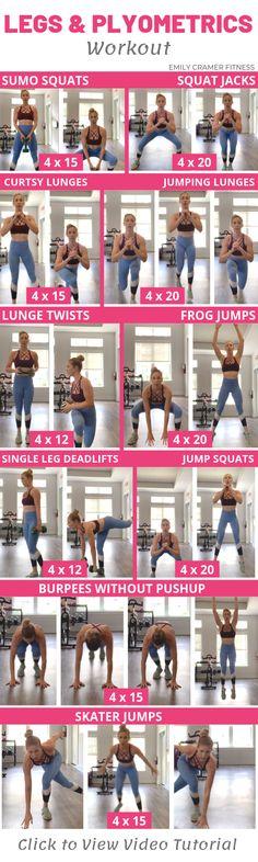 Legs & Plyometrics Workout