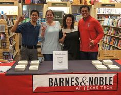 """Book signing at Texas Tech featuring """"LIMITLESS""""."""