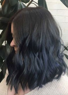 Navy Blue Hair 301
