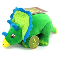 Envy Plush Triceratops Toy, Large ** Find out more details by clicking the image : Dog Toys