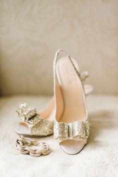 Sparkly #gold #katespade
