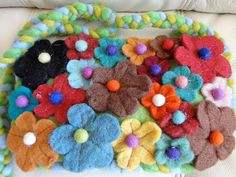 Lana by Sara Molano Felt Wool wallet bag pouch Purse by SaraMolano, $25.00