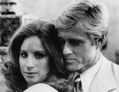 The Way We Were: Oh Robert Redford, he's such a charmer and Barbra Streisand is adorable as Katie. Description from paperbunnys.com. I searched for this on bing.com/images