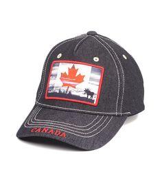 06feb8b7efc Black Canada Skyline Cap - Robin Ruth Canada