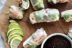 Du kan vel i bunn Enchiladas, Fresh Rolls, Guacamole, Tapas, Ethnic Recipes, Food, Essen, Meals, Yemek