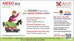 Be a Designer of Your Career! Join Fashion Design at Arch Academy http://www.archedu.org/fashion.html  #fashiondesign #colleges #courses #designing