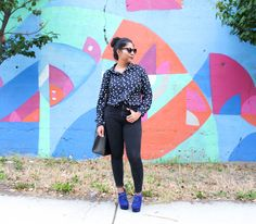 Pop of blue - The color palette a lifestyle, fashion & beauty blog