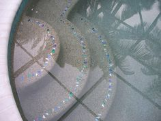 -  Lightstreams shell beach glass tile