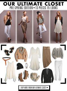 Ultimate Closet 13 pieces 15 looks (2011)