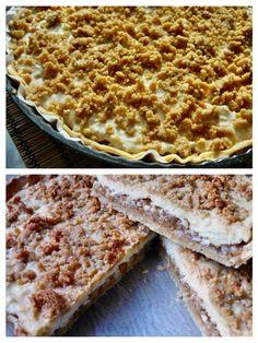 Jablčník s tvarohom a mandľovou posýpkou (fotorecept) - Recepty - Varecha. Bread, Cooking, Food, Basket, Kitchen, Brot, Essen, Baking, Meals