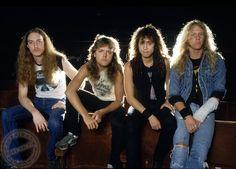 Metallica, era Master Of Puppets, por Ross Halfin