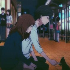Miraculous, Futaba Y Kou, Ao Haru, Blue Springs Ride, Matching Pfp, Cute Couples, Manga Anime, Universe, Kawaii