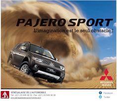newsletter du concessionnaire Sénégalaise de l'Automobile pour la promotion du Pajero Sport de #Mitsubishi décembre 2012