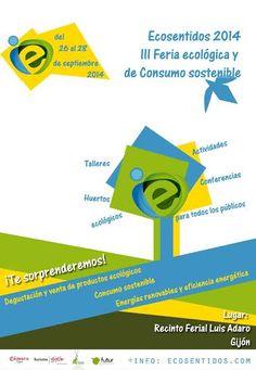 ECOSENTIDO 2014, III FERIA ECOLÓGICA Y CONSUMO RESPONSABLE ecoagricultor.com