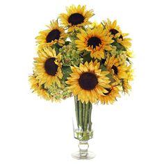 Faux Sunflower Arrangement II at Joss & Main
