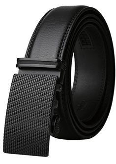 Dante, Men's Leather Ratchet Dress Belt