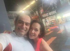 Sharis Cid  Terminando de entrenar con mi querido amigo @Omar45Fierro en @hit56pedregal  pic.twitter.com/CFyd6mF9wd
