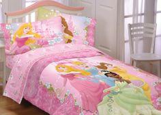disney princess pink bed cover