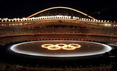 During the unforgettable Opening Ceremony of the 2004 Athens Olympics. I will always remember that amazing night inside the Stadium. The feeling will stay with me forever! Olympic Athletes, Olympic Sports, Olympic Games, 2004 Olympics, Summer Olympics, Great Openings, Athens City, Olympics Opening Ceremony, Winter Games