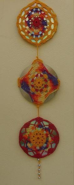 Meus primeiros pontos no crochê foram ensinados pela minha avó Branca Zamboni…