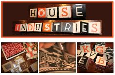 What's The Word: Interview with House Industries| Dilwyne Designs