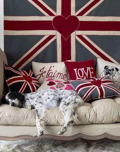 british love. union jack